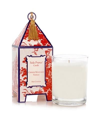 Seda France Chinese Mandarine Vanille Candle, 10-Oz.