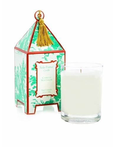 Seda France Crimson Amaryllis Pagoda Box Candle, 10-Oz.