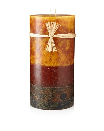 Stone Candles 12 Triple Layer Color Pillar Candle