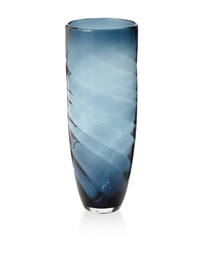 Lazy Susan Vintage Sapphire Swirl Vase