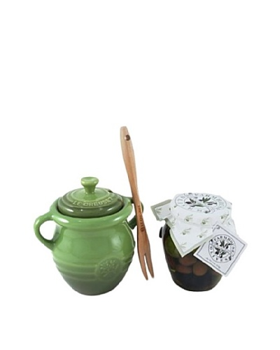 Le Creuset Olive Jar Set, Green