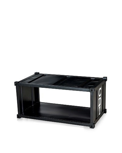 CDI Furniture Table de Nuit Industrial Night Stand Aged