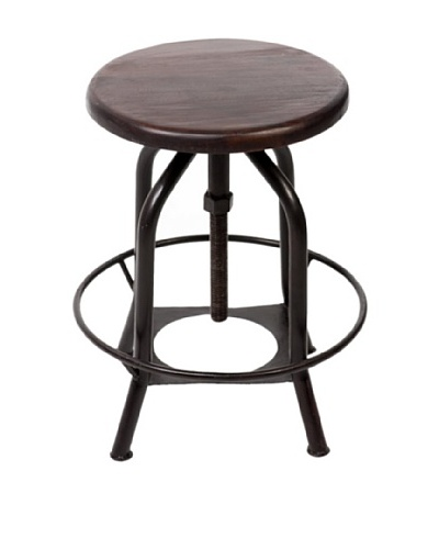 CDI Furniture New Industrial II Stool, Dark Grey
