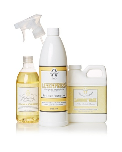 Le Blanc Luxury Laundry Care Kit, Verbena, 16-Oz.