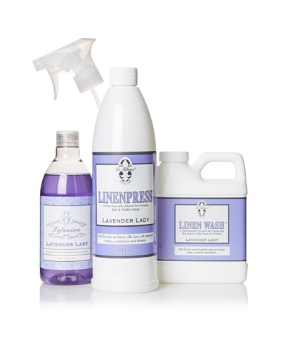 Le Blanc Luxury Laundry Care Kit, Lavender Lady, 16-Oz.