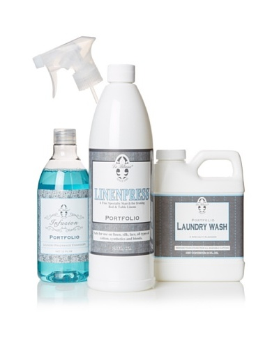 Le Blanc Luxury Laundry Care Kit, Portfolio, 16-Oz.