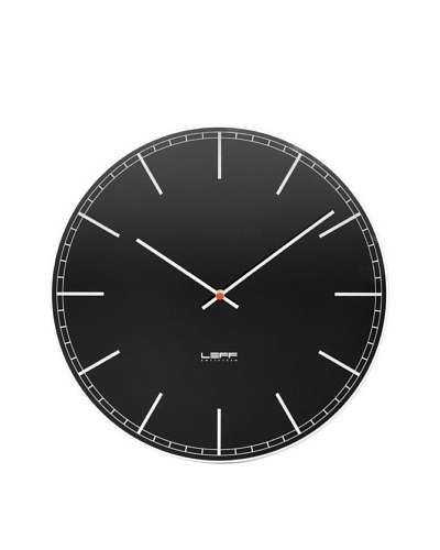 Leff Amsterdam Glass Index Clock