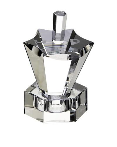 Legacy Judaica Hexagon Crystal Dreidel