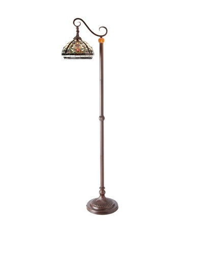 Legacy Lighting Baroque Floor Lamp, Burnished WalnutAs You See
