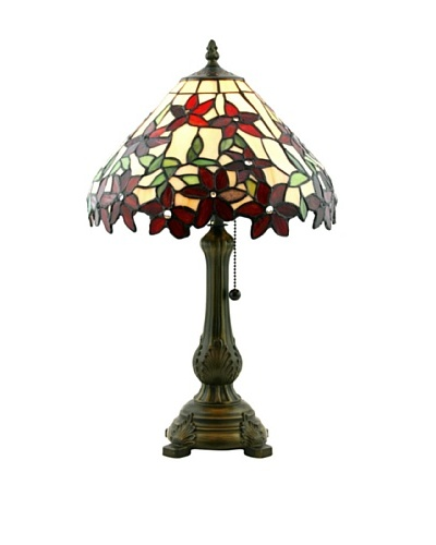 Legacy Lighting Poinsetta Table Lamp