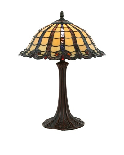 Legacy Lighting Warm Amber Table Lamp