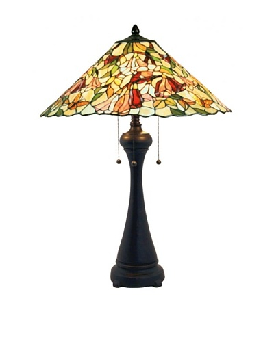 Legacy Lighting Alessandra Table Lamp, Crimson Noir