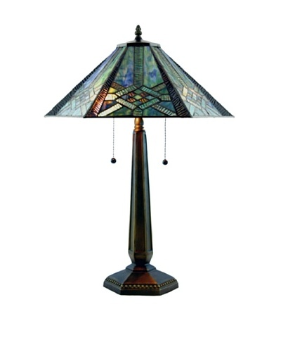 Legacy Lighting Lake Mohave Table Lamp, Vestige Pewter