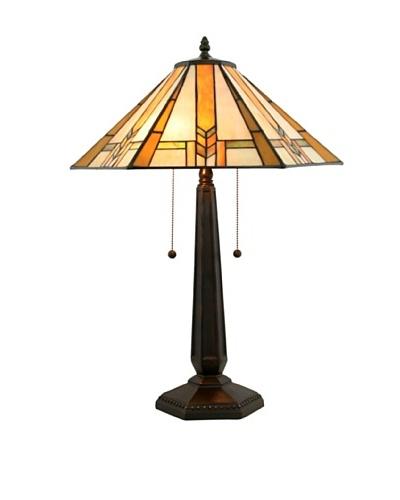 Legacy Lighting Winslow Table Lamp, Burnished Walnut