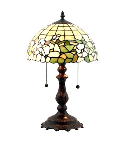 Legacy Lighting Fairfield Accent Lamp, Burnished Walnut