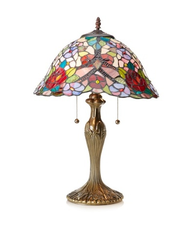 Legacy Lighting Gloria Table Lamp, Vestige Brass