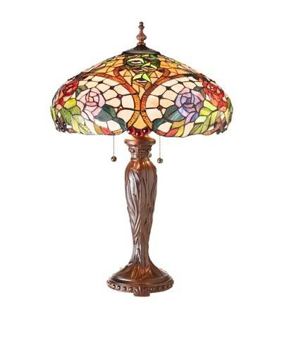 Legacy Lighting Anarossa Large Table Lamp, Burnished Walnut