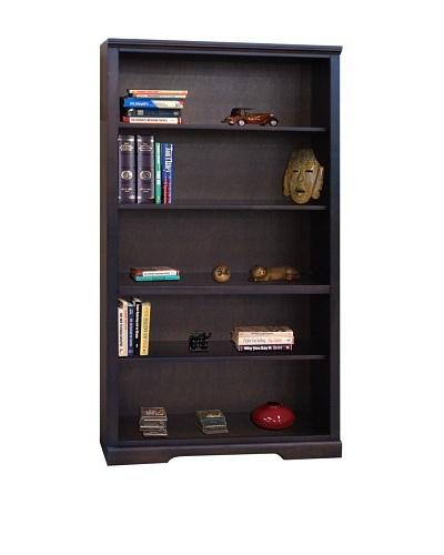 Legends Furniture Brentwood 72 Bookcase, Danish Cherry