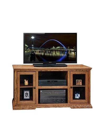 Legends Furniture Colonial Place 54 TV Console, Golden Oak