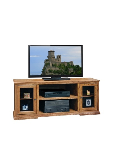 Legends Furniture Colonial Place 62 TV Console, Golden Oak