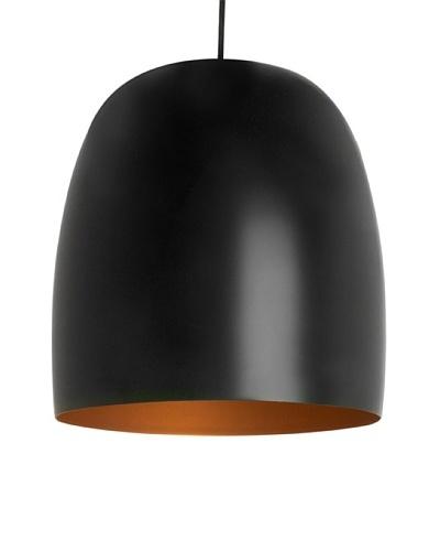 Leitmotiv Kalimero Pendant Lamp, Black/Gold