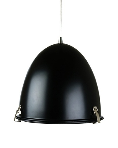Leitmotiv Mini Cone Pendant Lamp, Black