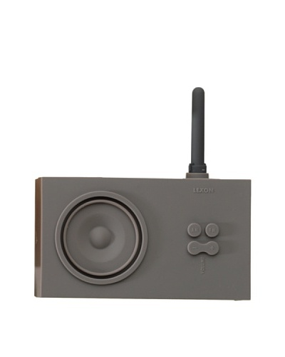 Lexon Tykho Rubber Radio, Grey