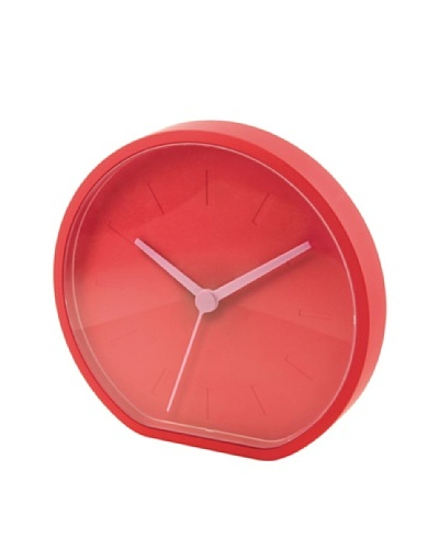Lexon Wall or Table Clock, Orange