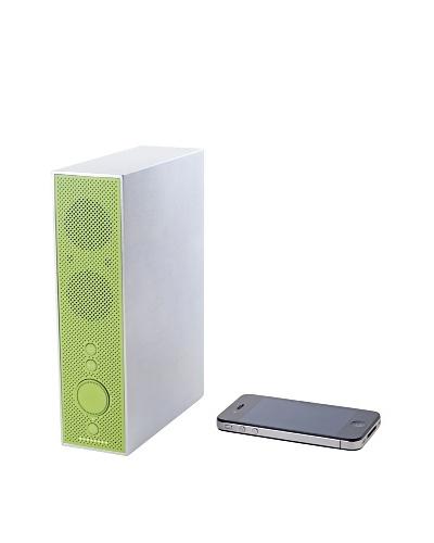 Lexon Titanium Bluetooth Speakers, Green