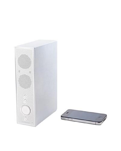 Lexon Titanium Bluetooth Speakers, White