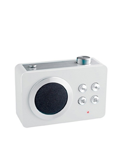 Lexon Mini Dolmen Radio, White