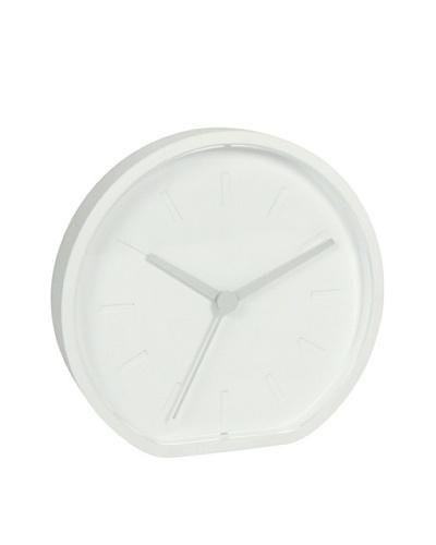 Lexon Wall or Table Clock, White