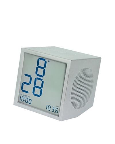 Lexon Prism Clock Radio, Aluminum