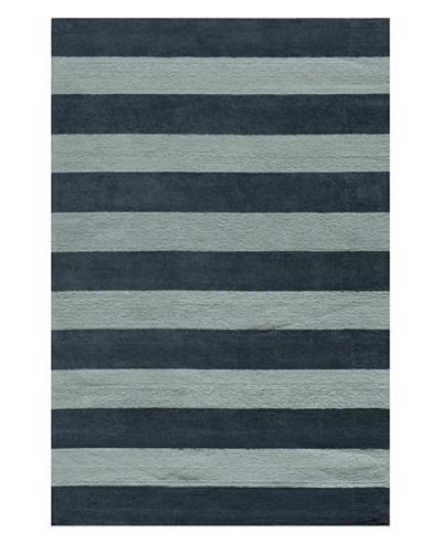 Lil Mo Stripes Rug [Blue]