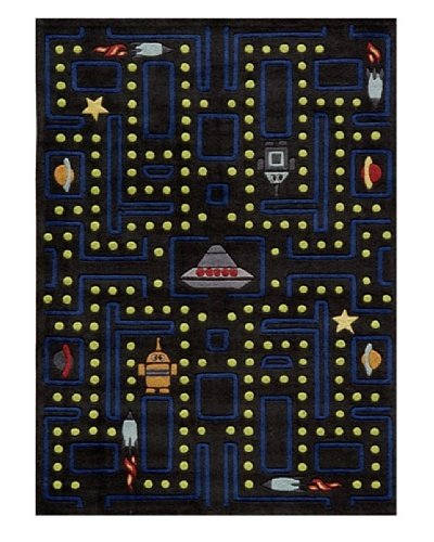 Lil Mo Space games, Arcade Black, 5' x 7'