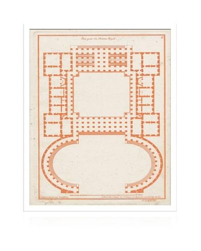 Lillian August Orange Garden Plan
