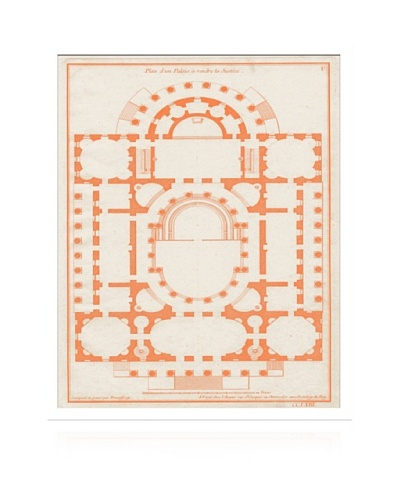Lillian August Orange Garden Plan