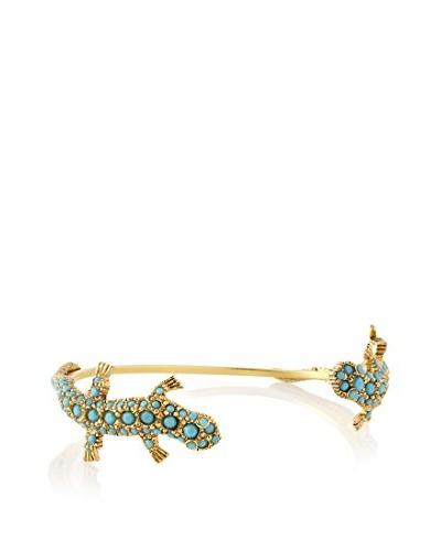 Linda Levinson Turquoise-Studded Salamander Cuff