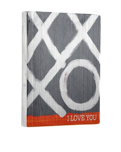 Lisa Weedn Xxxo I Love You Reclaimed Finished Wood Portrait
