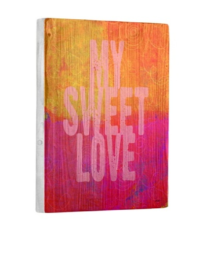 Lisa Weedn My Sweet Love Reclaimed Finished Wood Portrait