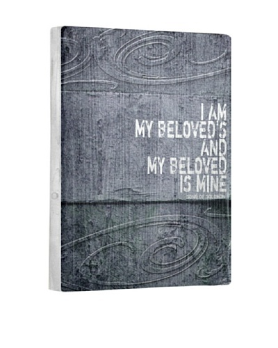 Lisa Weedn I Am My Beloved's Reclaimed Finished Wood Portrait