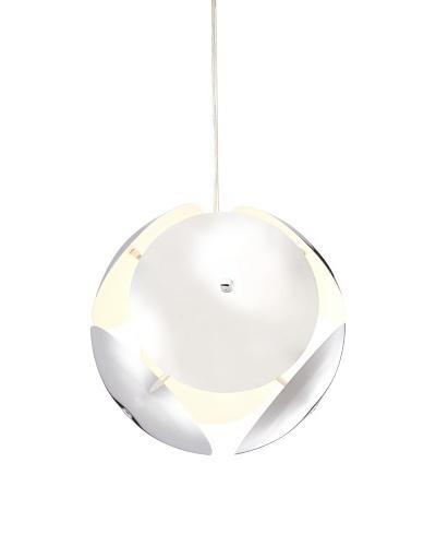 Laura Pendant Lamp, Chrome