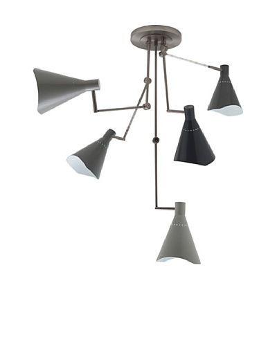 Brava 5 Pendant Lamp [Grey]