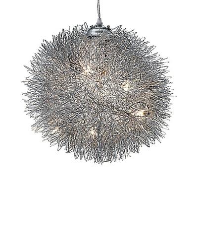 Lectra Pendant Lamp, Aluminum