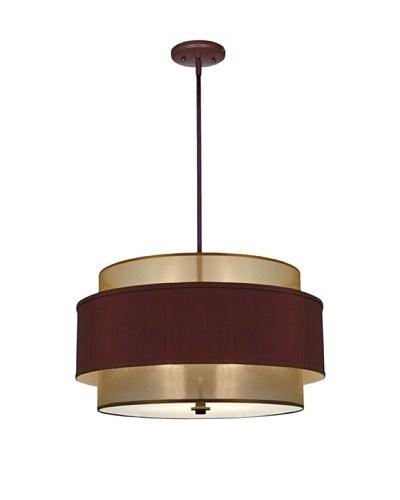 Lite Tops Saturn Ring Pendant Light, Oil-Rubbed Bronze