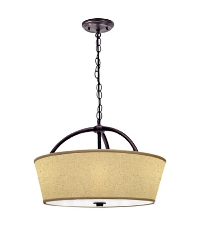 Lite Tops Arches Pendant, Oil Rubbed Bronze
