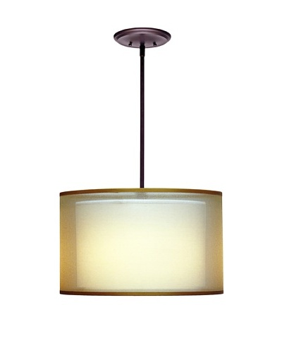 Lite Tops Silhouette Pendant, Oil Rubbed Bronze