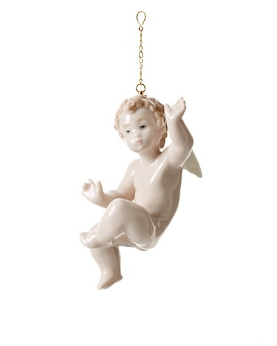 Lladró Surprised Cherub Ornament