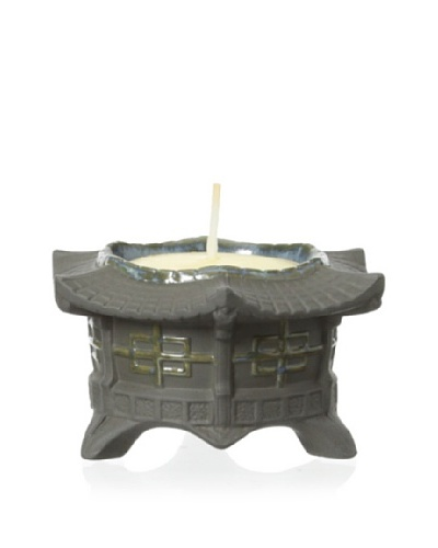 Lladró Tealight Candle Holder, Black