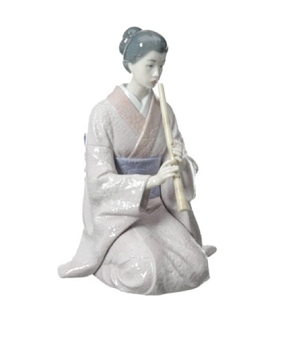 Lladró Shakuhachi Player Figurine